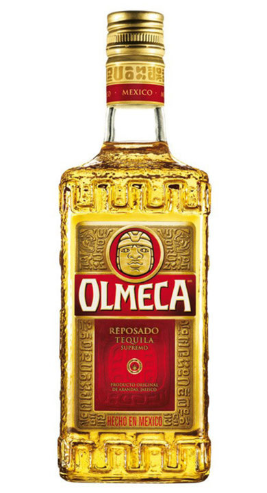 Bottle of Olmeca Reposado