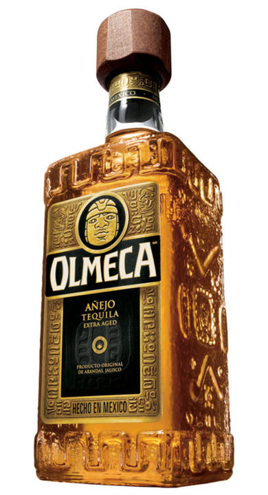 Bottle of Olmeca Añejo Extra Aged