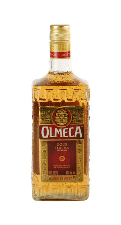 Bottle of Olmeca Gold