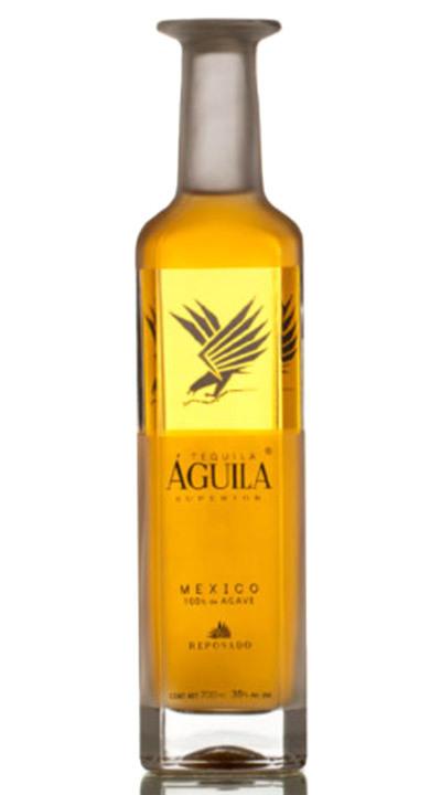 Bottle of Tequila Aguila Superior Reposado