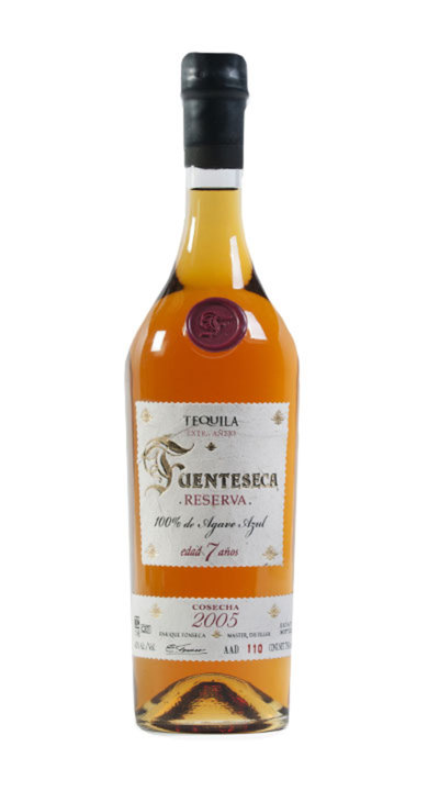Bottle of Fuenteseca Reserva Extra Añejo 7-year
