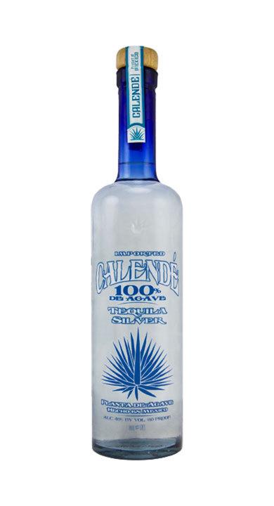 Bottle of Calendé 100% de Agave Silver
