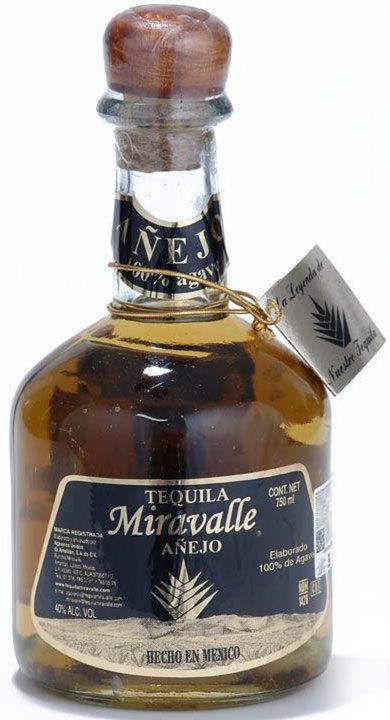 Bottle of Miravalle Añejo