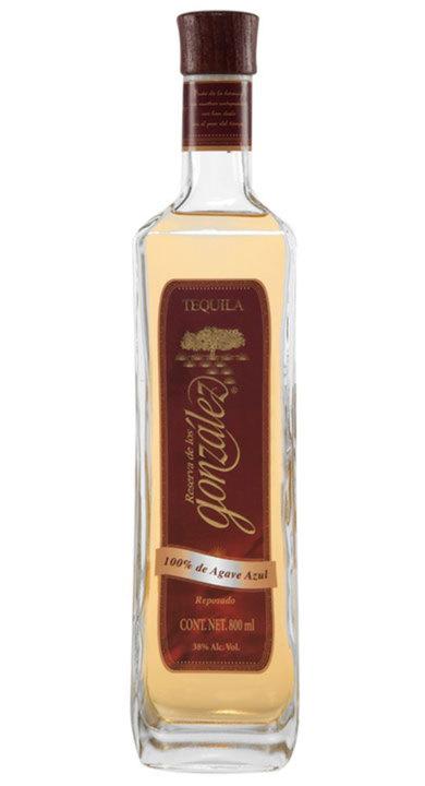 Bottle of Reserva de Los Gonzalez Reposado