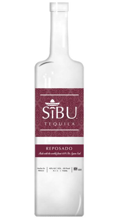 Bottle of SiBU Tequila Reposado