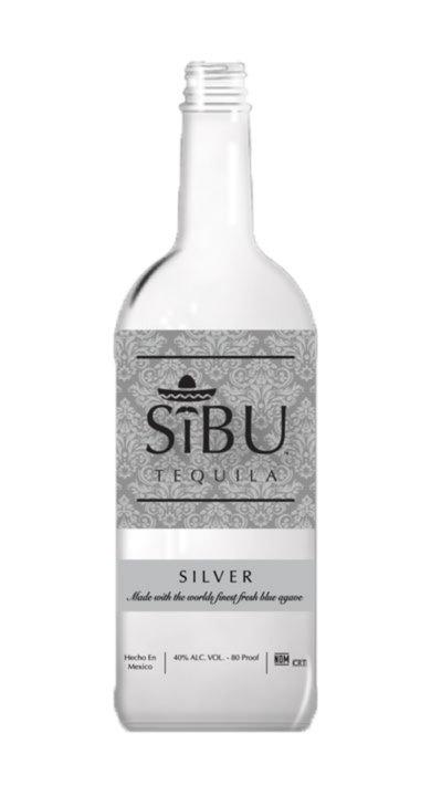 Bottle of SiBU Tequila Silver