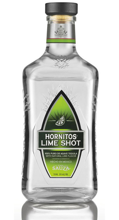 Bottle of Hornitos Lime Shot