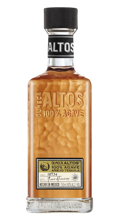 Bottle of Olmeca Altos Añejo