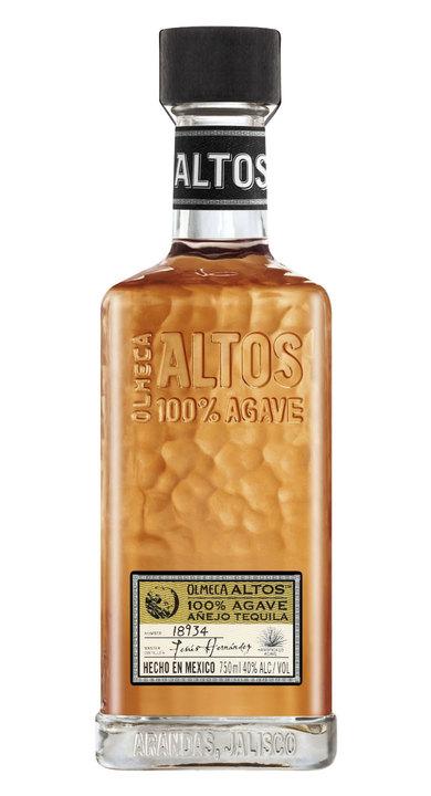 Bottle of Olmeca Altos Añejo