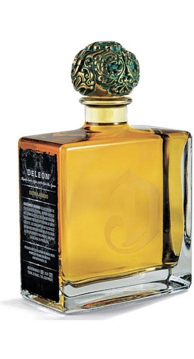 Bottle of DeLeon 51 Extra Anejo