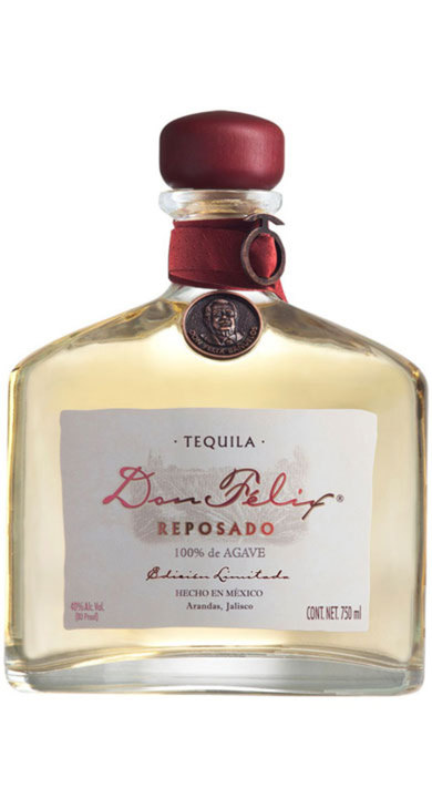 Bottle of Don Felix Reposado