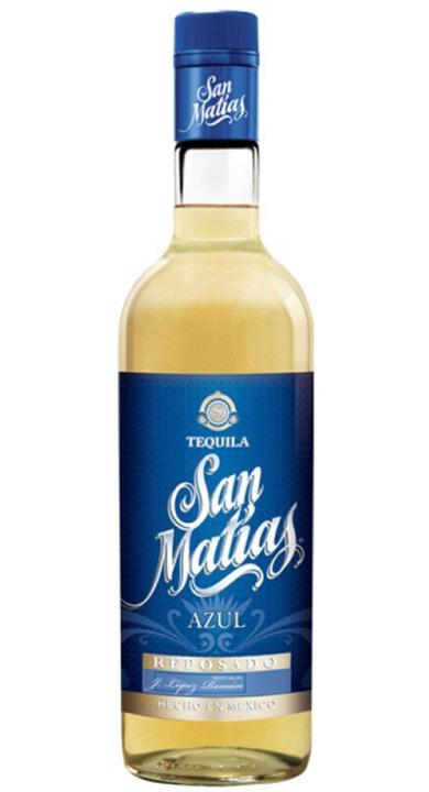 Bottle of San Matías Azul Reposado