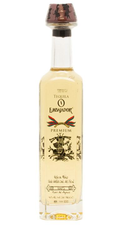 Bottle of Embajador Premium Reposado