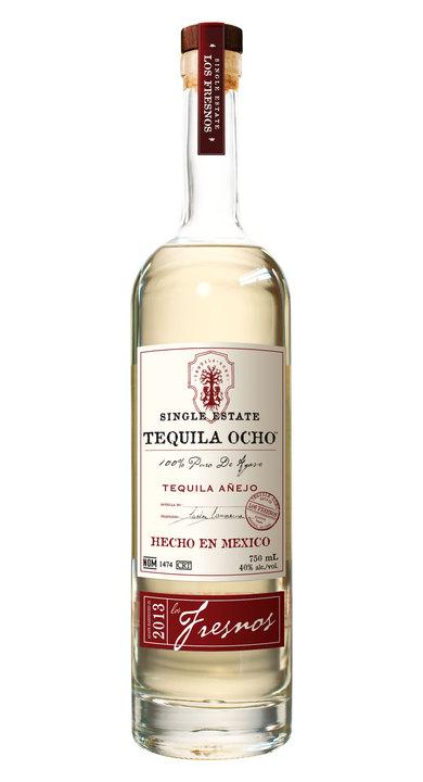 Bottle of Ocho Tequila Añejo - Los Fresnos 2013
