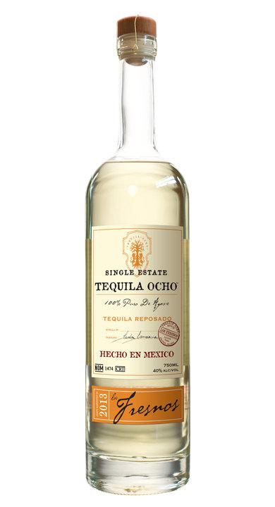 Bottle of Ocho Tequila Reposado - Los Fresnos 2013