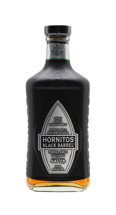 Bottle of Hornitos Black Barrel Añejo