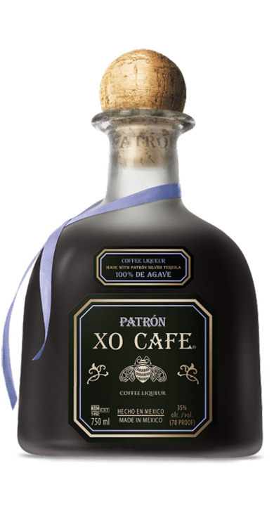 "Bottle of Patrón ""XO Cafe"" Coffee Liquer"
