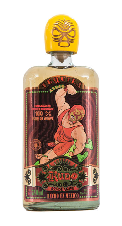 Bottle of Rudo Añejo