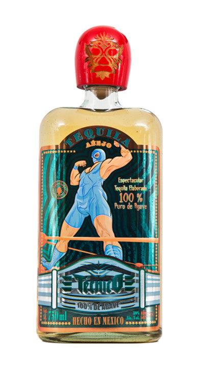 Bottle of Tecnico Añejo