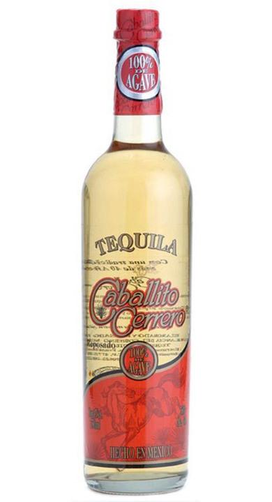 Bottle of Caballito Cerrero Reposado