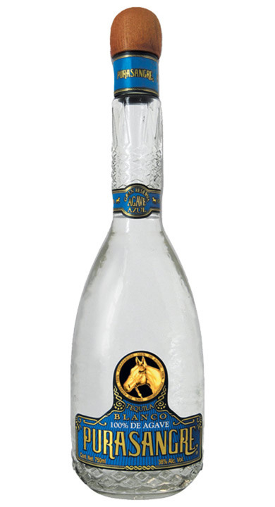 Bottle of Purasangre Blanco