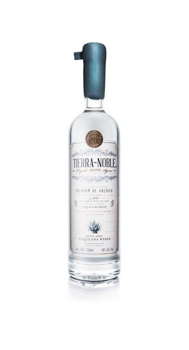 Bottle of Tierra Noble Tequila Blanco