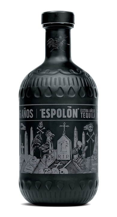 Bottle of Espolon Añejo X (Extra Añejo)