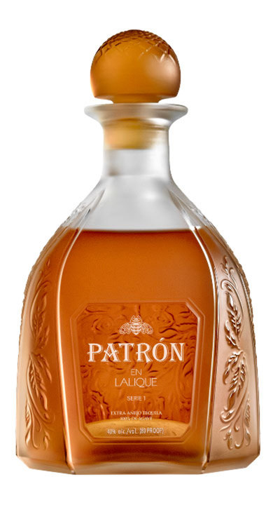 Bottle of Patrón en Lalique: Serie 1