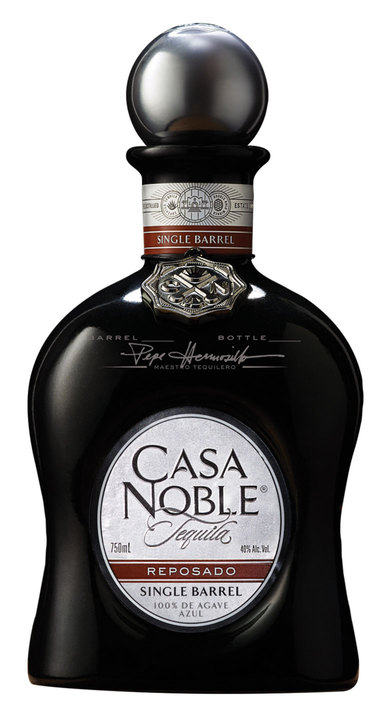 Bottle of Casa Noble Single Barrel Reposado