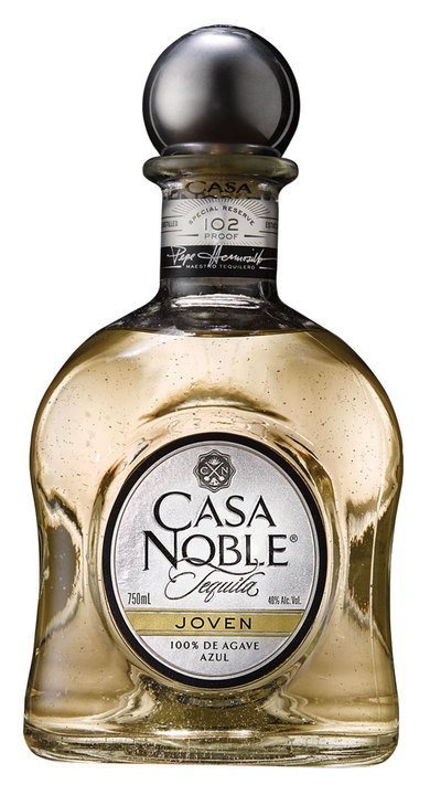 Bottle of Casa Noble Tequila Joven