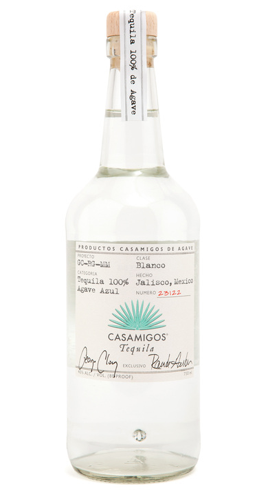 Bottle of Casamigos Tequila Blanco