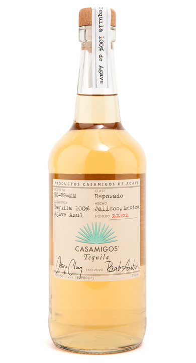 Bottle of Casamigos Tequila Reposado