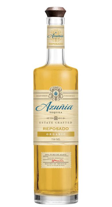 Bottle of Azuñia Reposado