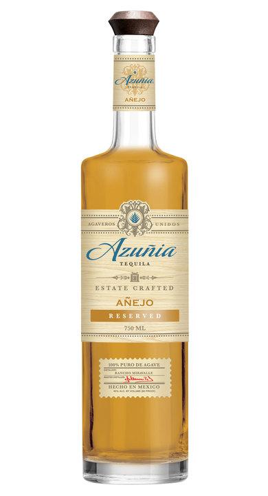 Bottle of Azuñia Añejo