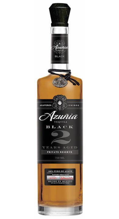 Bottle of Azuñia Black Añejo