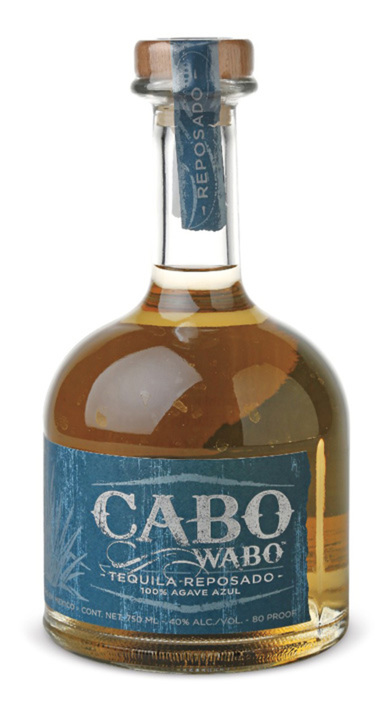 Bottle of Cabo Wabo Reposado