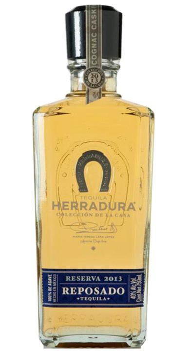 Bottle of Herradura Colección de la Casa Reserva 2013 Reposado  – Cognac Cask Finish