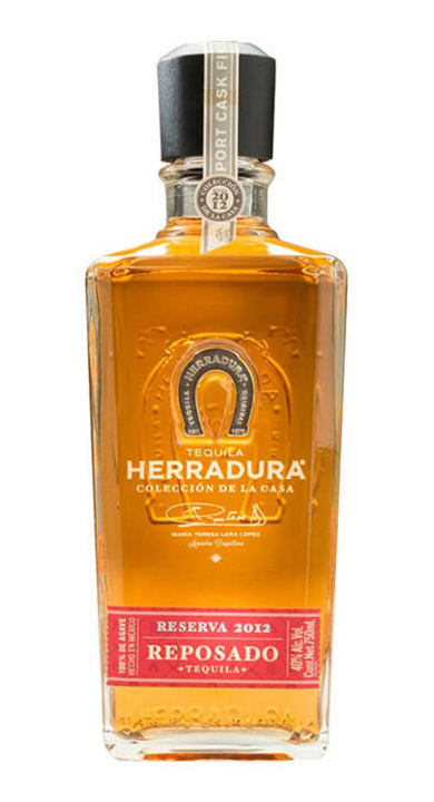 Bottle of Herradura Colección de la Casa Reserva 2012 Reposado – Port Cask Finish