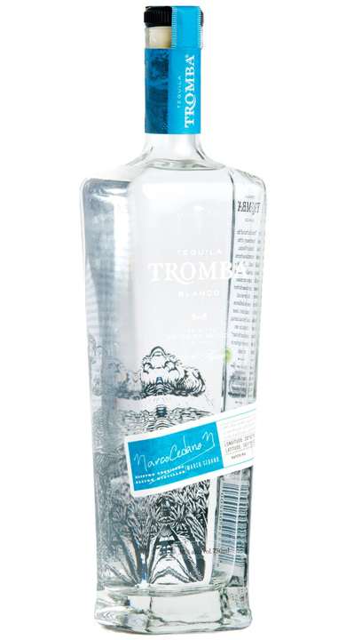 Bottle of Tequila Tromba Blanco