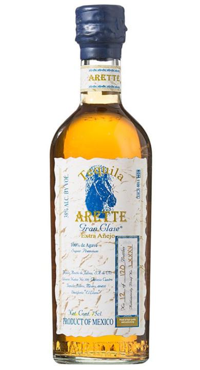 Bottle of Arette Gran Clase Extra Añejo