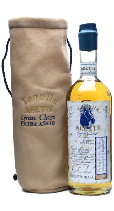 Bottle of Arette Gran Clase Extra Añejo 10 Year