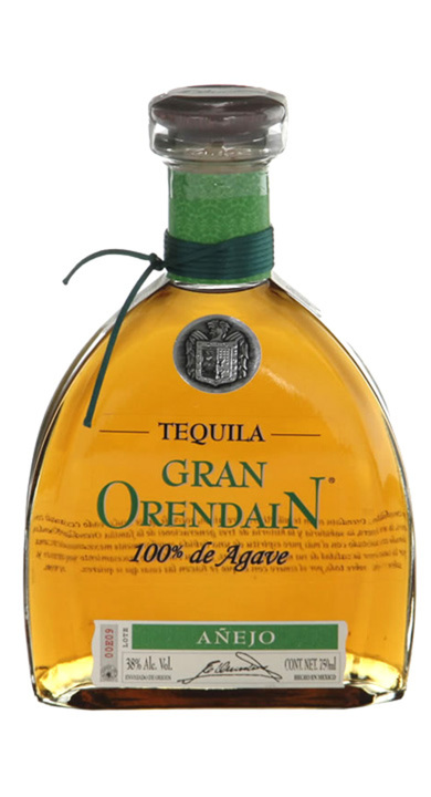 Bottle of Gran Orendain Añejo