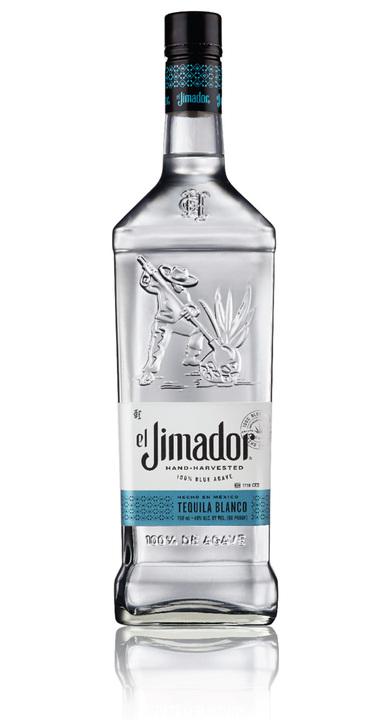 Bottle of El Jimador Blanco Tequila