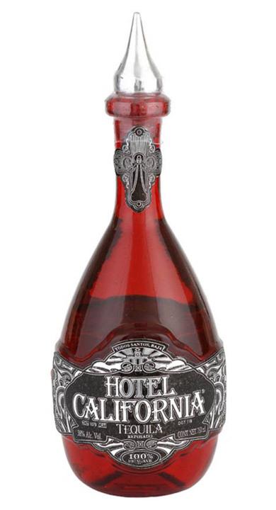 Bottle of Hotel California Reposado