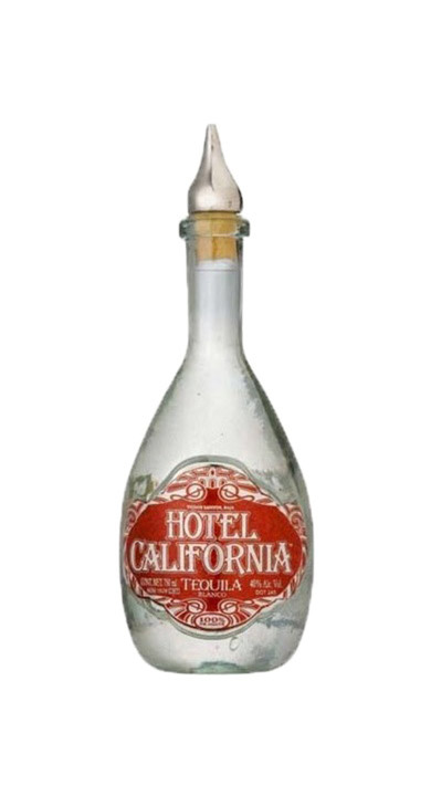 Bottle of Hotel California Blanco