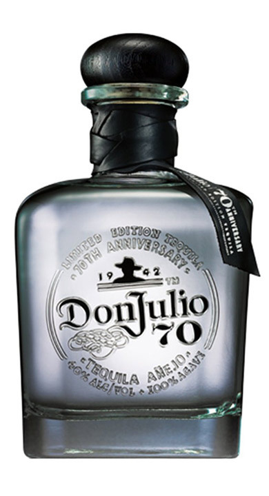 Bottle of Don Julio Añejo 70th Anniv.
