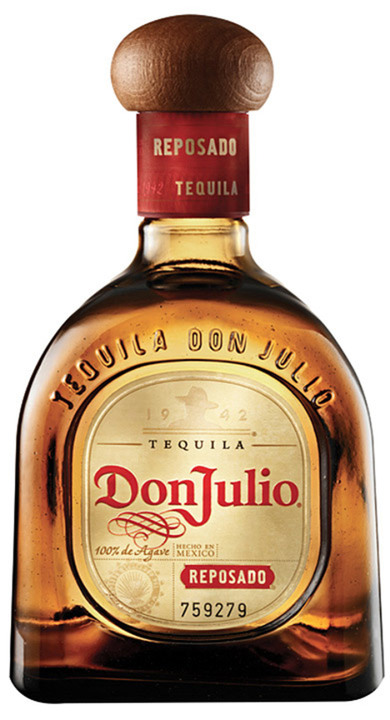 Bottle of Don Julio Reposado