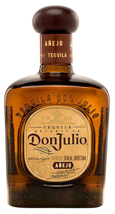 Bottle of Don Julio Añejo