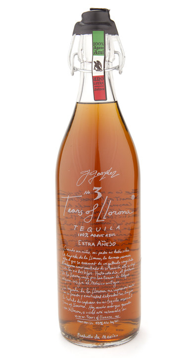 Bottle of Tears of Llorona Extra Añejo