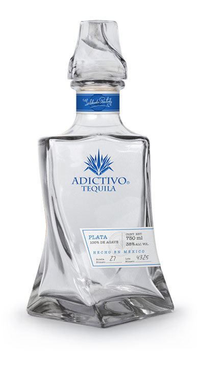 Bottle of Adictivo Tequila Plata